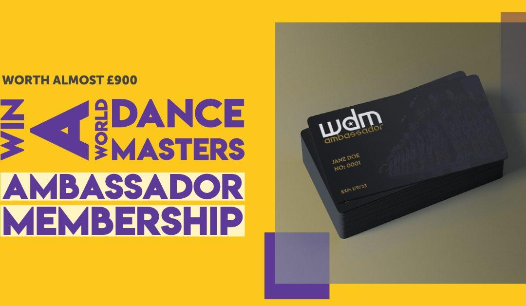 Win a WDM Ambassador Membership!